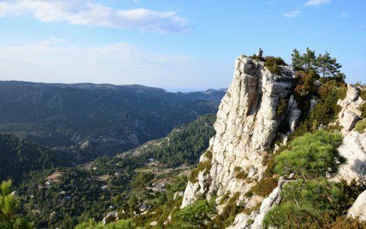 Caro la Barcina Els Ports - hiken in natuurpark Els Ports