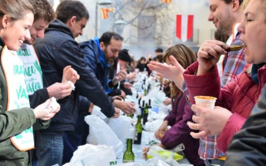 Festa de Calcotada Valls