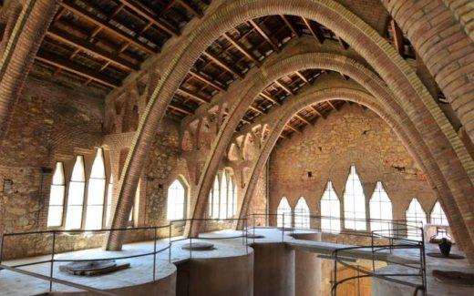 Wijnkathedraal Pinell de Brai