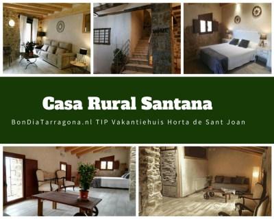 Vakantiehuis tip Benifallet | Landhuis Benifallet | Bijzondere vakantiehuizen Tarragona | Vakantieappartementen Tip Horta de Sant Joan | Casa Rural Santana