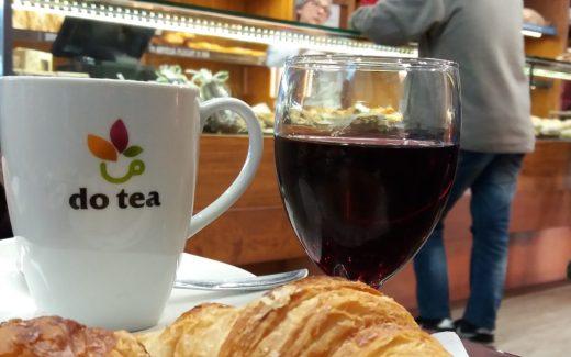 Over leven in Spanje Ontbijten met wijn
