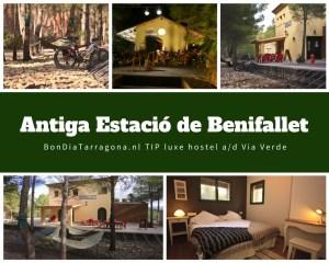 Hostel tip Benifallet | Antiga Estacio de Benifallet | acoommodatie Tarragona | Ontdek natuurpark Els Ports