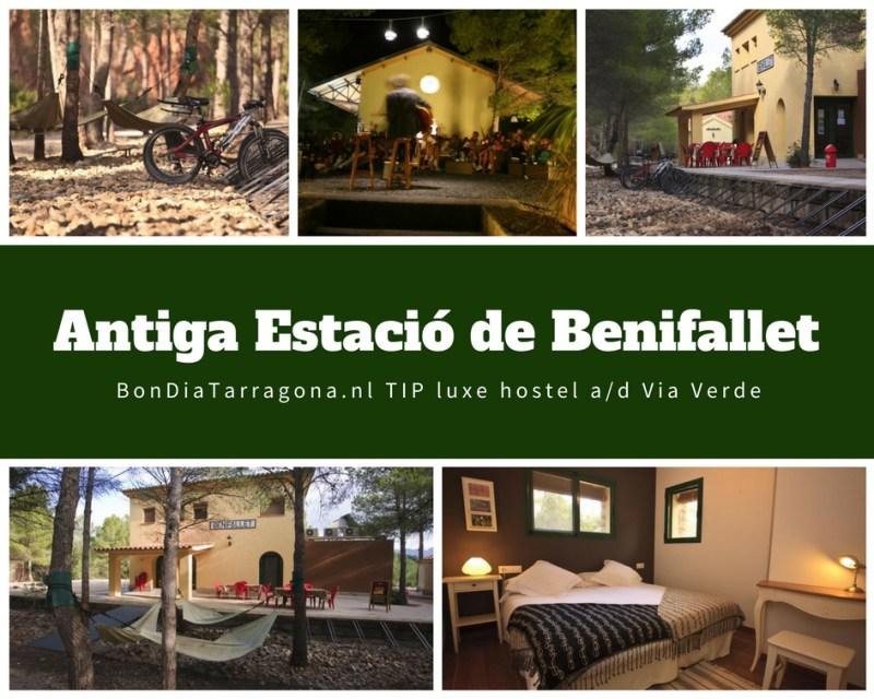 Hostel tip Benifallet | Antiga Estacio de Benifallet
