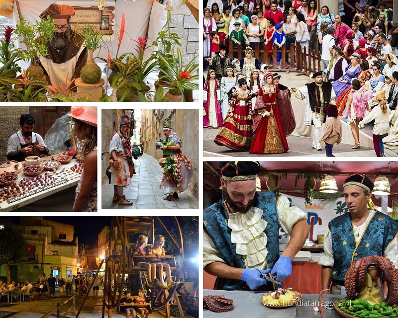 Middeleeuwse Markt Tortosa | Festa del Renaixement Tortosa | Middeleeuwse Markten Tarragona
