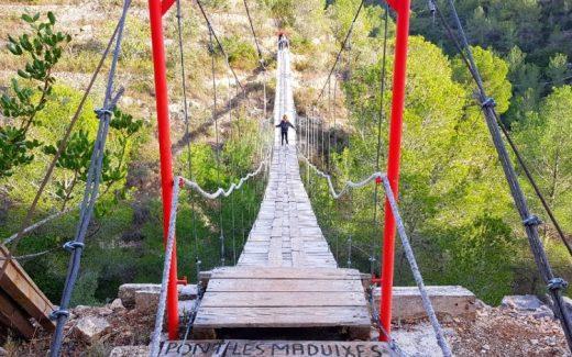 Hidden gem Tortosa | Ponts del Bitem | De geheime hangbruggen van Miguel | Pont les Maduixes