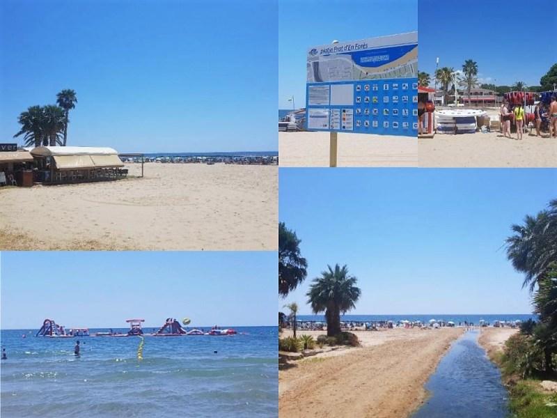 Stranden Tarragona | stadsstrand in Tarragona