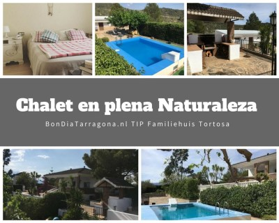Hoteltip Tortosa | Chalet in de natuur |