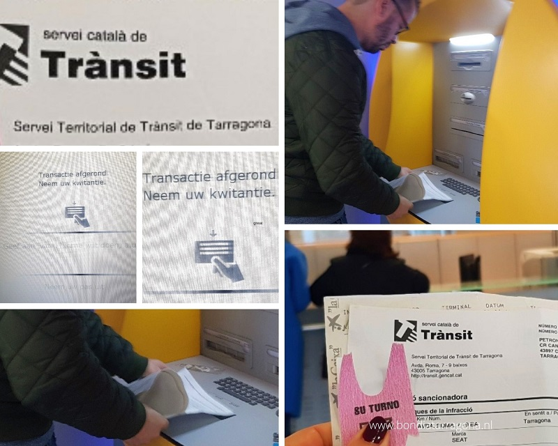 Op de Bon | Bekeuring in Spanje | Verkeersboete Spanje