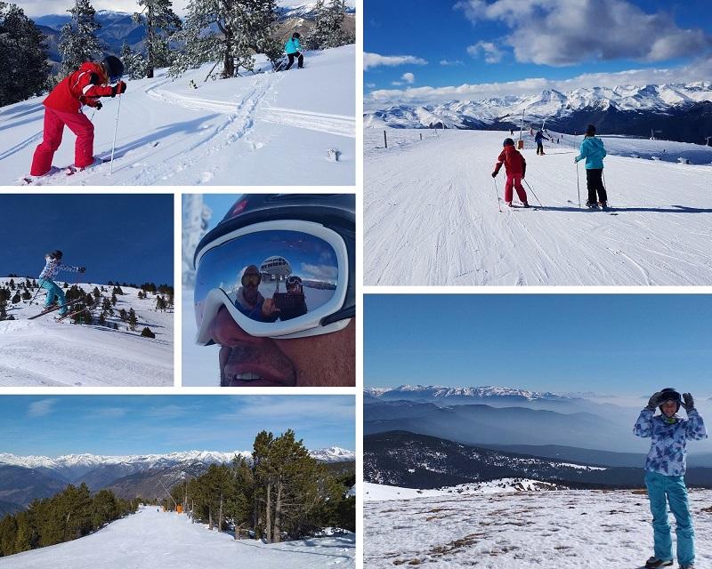 Skigebied Port Aine in de Catalaanse Pyreneeen