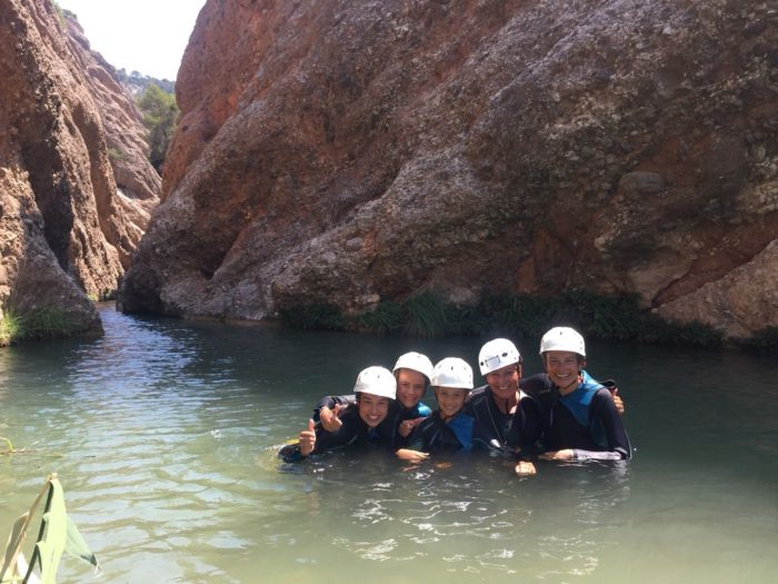 Canyoning Beceite