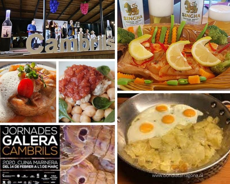 Restaurants en Food festivals Culinaire hoofdstad Costa Dorada