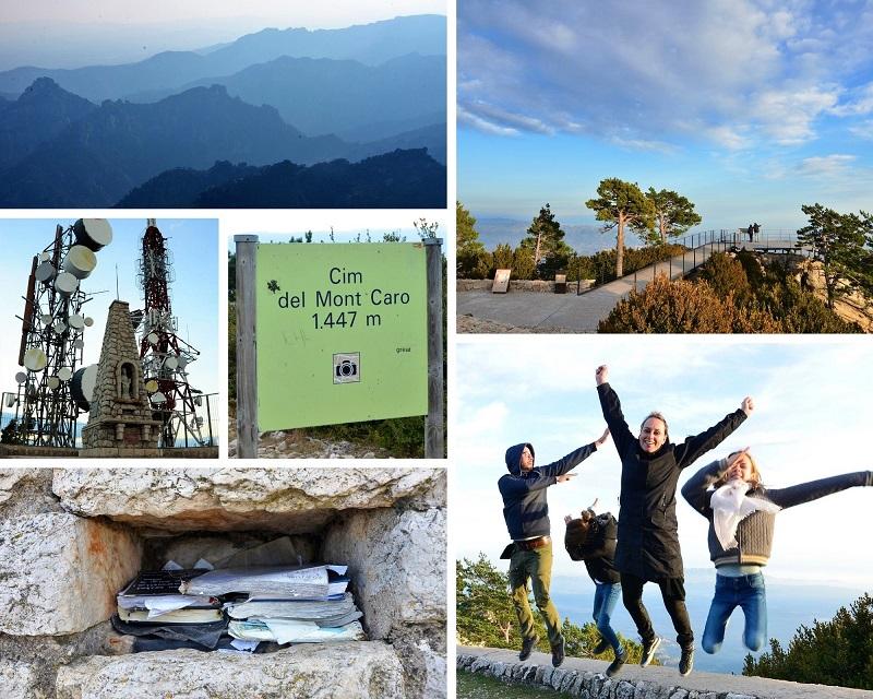 Mont Caro Het hoogste punt in natuurpark Els Ports