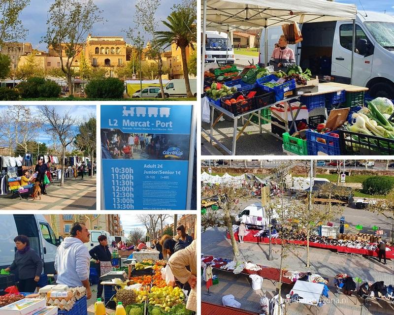 Weekmarkt Cambrils | Weekmarkten Tarragona