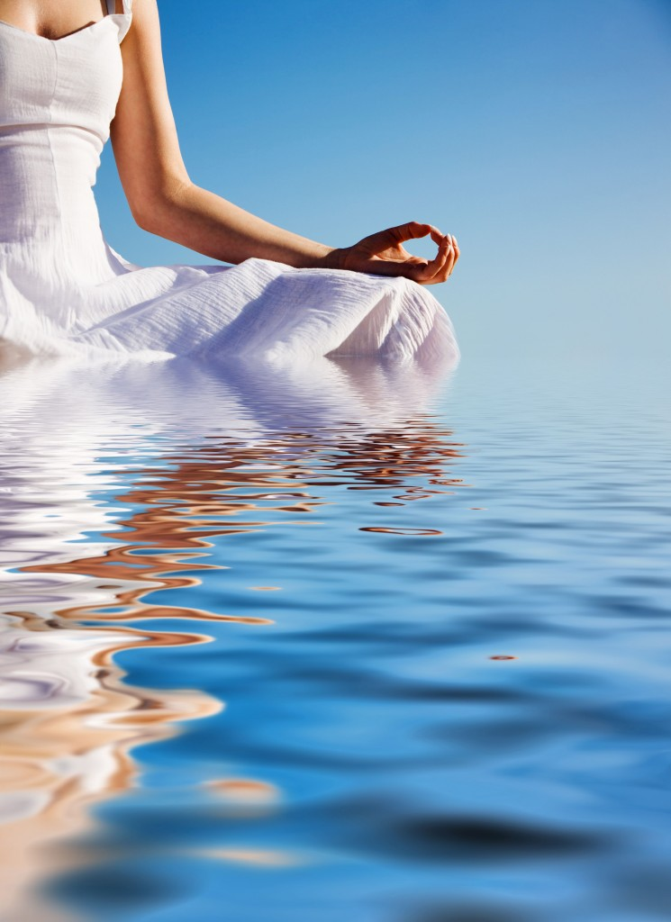 woman-meditating-in-water