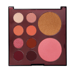 Mixed metals pink eye shadow palette. Image taken from Profusion website.