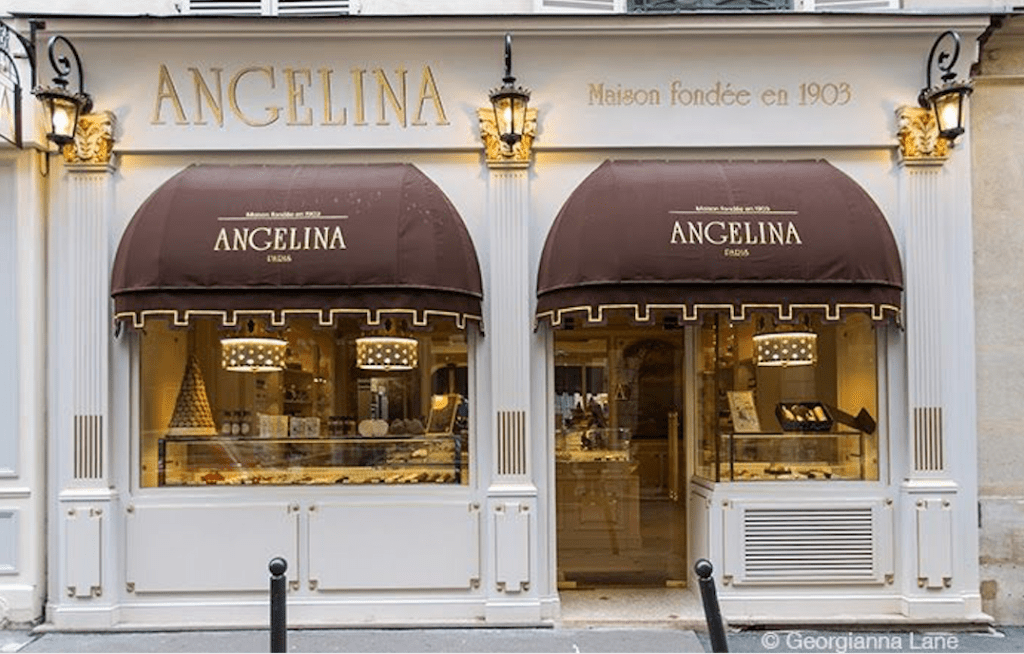 Angelina's Paris