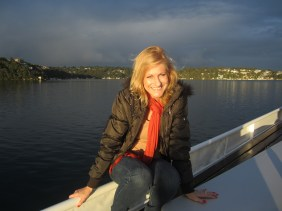 Cruising on the stunning Port Hacking - near Cronulla NSW - May 2012