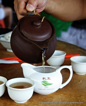 Ah yes! Chinese Tea! We ordered Cha Wang (Tea King) aka Tea King Monkey Chief, Tea King Monkey King, Tea King Monkey Tea.