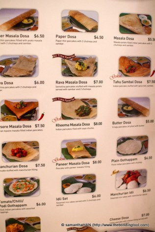 The menu boasts of 400 over items from Indian to Thai cuisine.