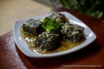 Charcoal Tofu.
