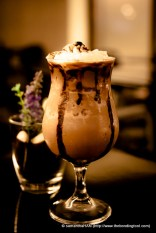 My choice of ice-blended made with GaBee Southern Italy Blend (robusta beans).