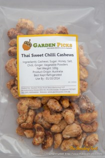 Thai Sweet Chilli Cashews.