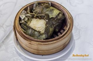 Lotus Leaf Glutinous Chicken Rice (糯米雞)
