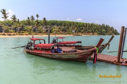 Longtail boats.