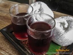 Roselle Juice - full of vitamins.