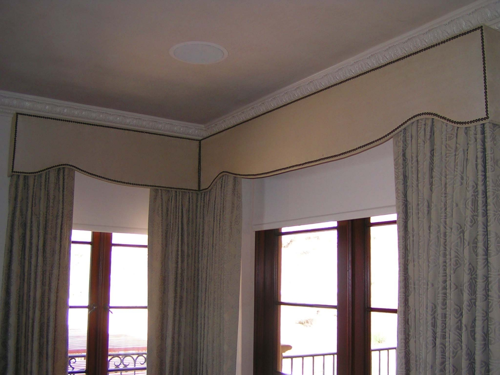 top treatments and decorative cornice boxes