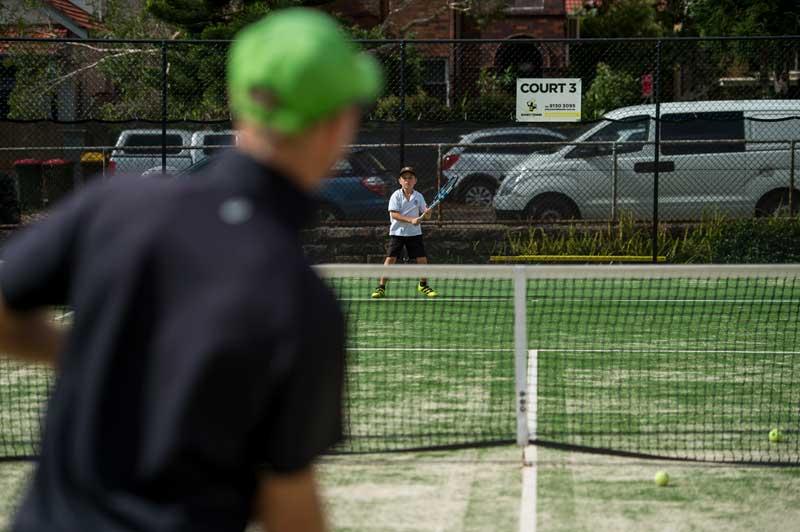 Coaching Bondi Tennis Center