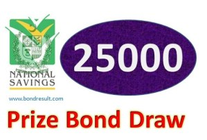 Rs. 25000 Prize Bond list 18# Draw, 1st August 2016 at Hyderabad