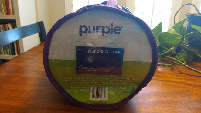purple pillow review does it smell