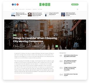 Bone - Minimal & Clean WordPress Blog Theme - 9
