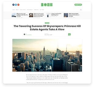 Bone - Minimal & Clean WordPress Blog Theme - 12