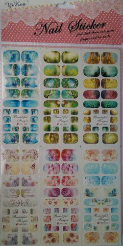 Наклейки на ногти YRE Nails Stickers Slider Design купить ...