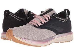 Pink & Black Brooks Running Shoes