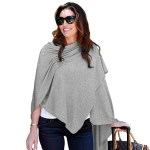 Fashionable Travel Wrap that can be a wrap, blanket, or scarf