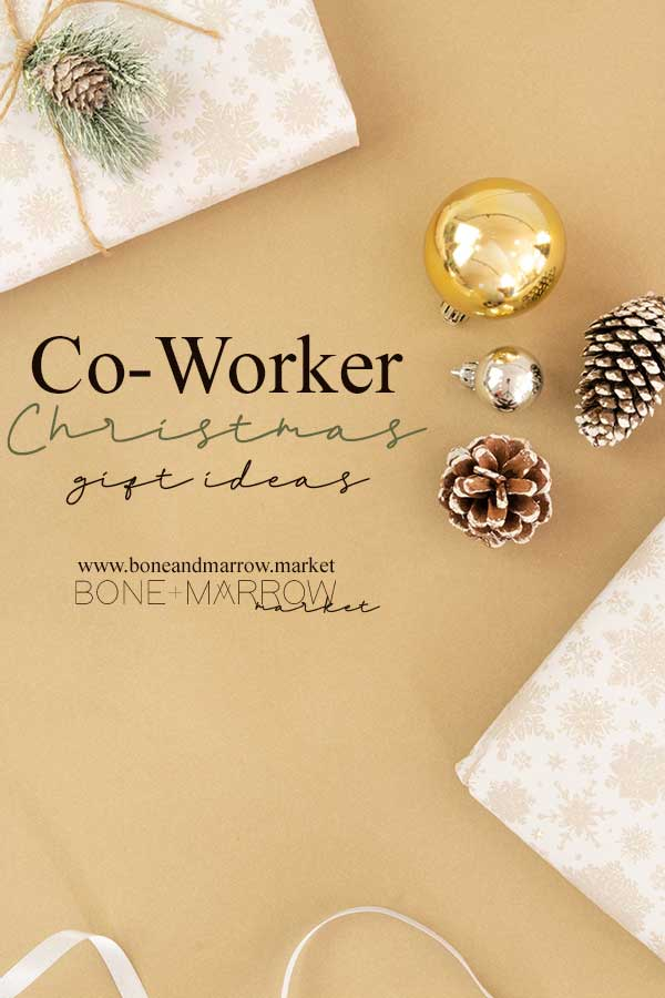 Co-Worker Christmas Gift Ideas by Bone+Marrow