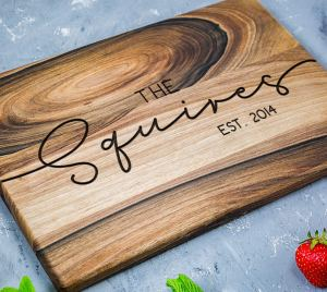Custom Cutting Board Gifts Love Language