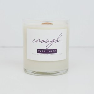 Enneagram 3 Candle