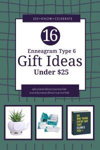 Enneagram Type 6 Gifts Ideas Under $25