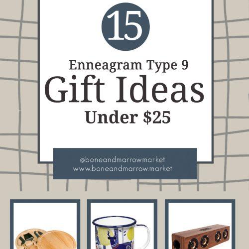 Enneagram Type 9 Gifts Under $25