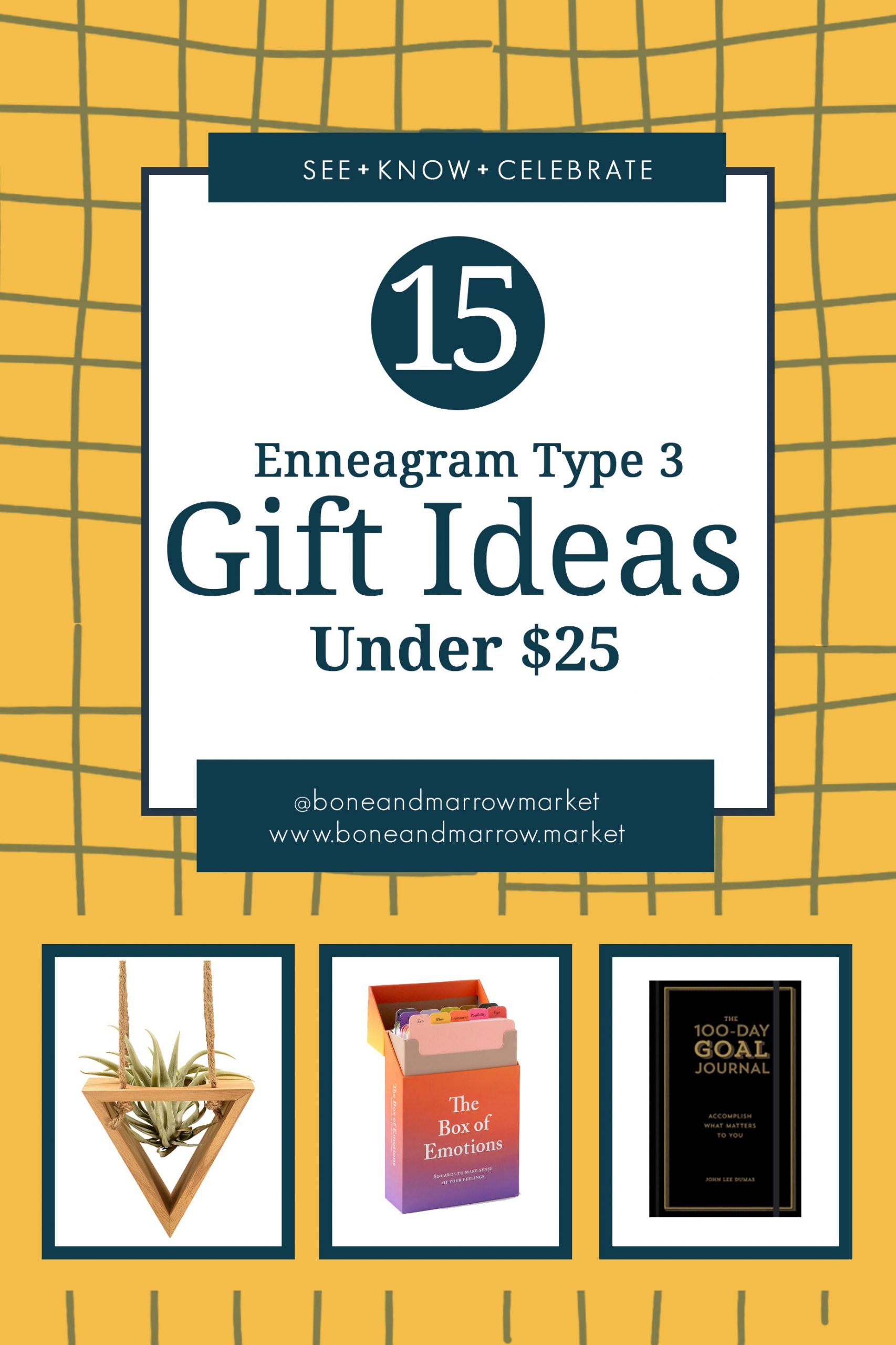 Enneagram Type 3 Gifts Ideas Under $25