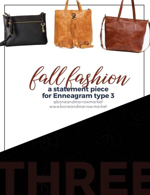 Fall Fashion for Enneagram Type 3