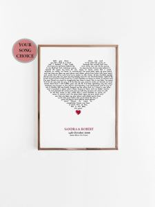 Song Lyric Printable