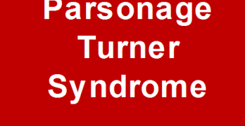 Parsonage Turner Syndrome