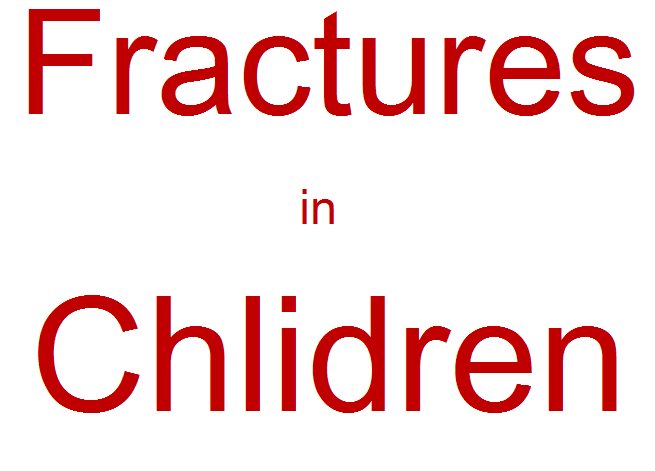 Fractures in Children