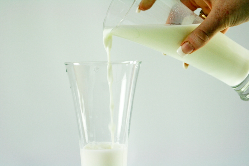 Glass of Milk for Calcium