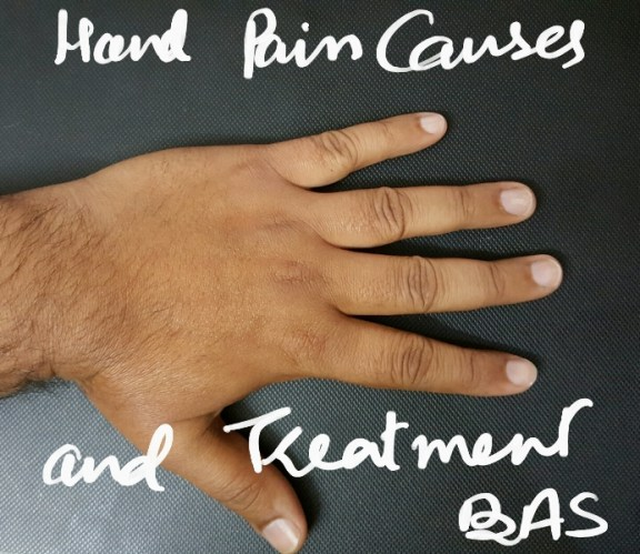 hand pain causes
